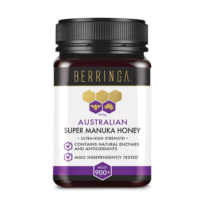 Berringa, Australian Super Manuka Honey Ultra-High Strength (Mgo, 900+), 500g