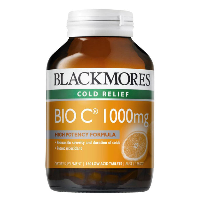 Blackmores, Bio C, 1000Mg, 150 Tablets