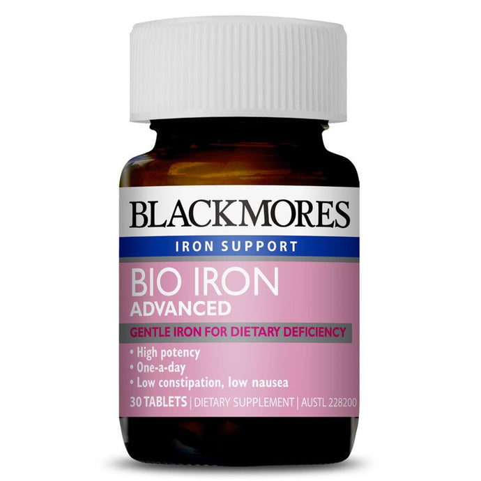 Blackmores, Bio Iron Advanced, 30 Tablets
