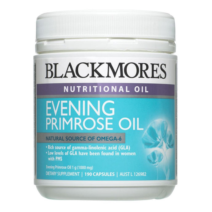 Blackmores, Evening Primrose Oil + Fish Oil, 100 Capsules