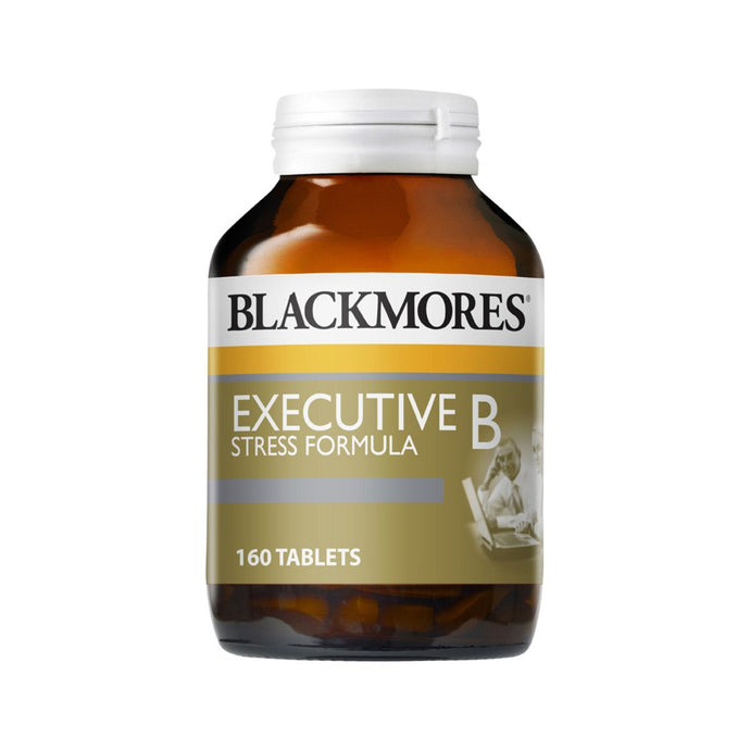 Blackmores, Executive B Stress Formula, 160 Tablets