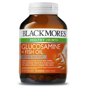 Blackmores, Glucosamine + Fish Oil, 90 Capsules