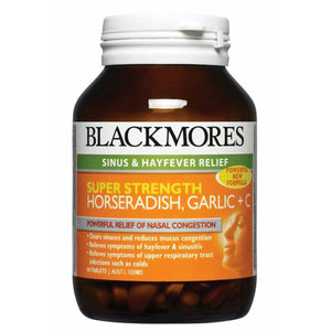 Blackmores, Horseradish Garlic + C, 90 Tablets