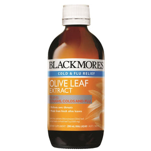 Blackmores, Olive Leaf Extract, 200ml