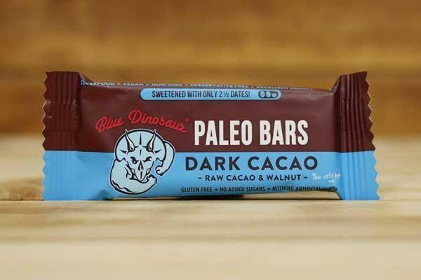 Blue Dinosaur, Paleo Bar Dark Cacao, 45g