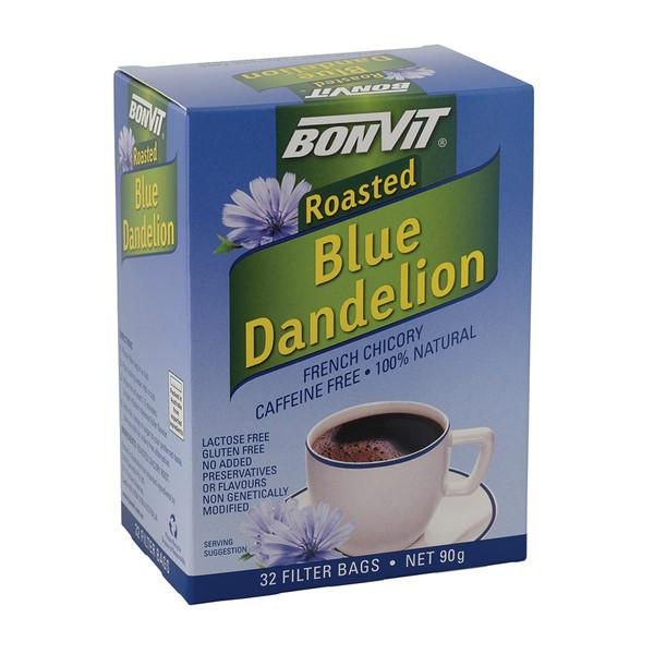 Bonvit, Roasted Blue Dandelion French Chicory Tea x 32 Filter Bags