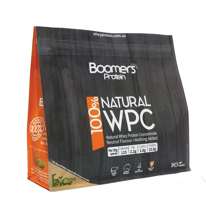 Boomers, 100% Whey Protein Concentrate, 1Kg
