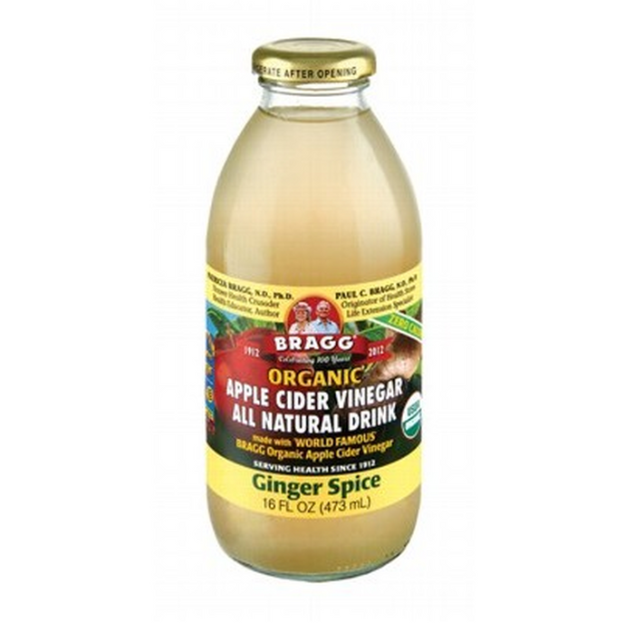 Bragg, Apple Cider Vinegar Ginger, 473ml