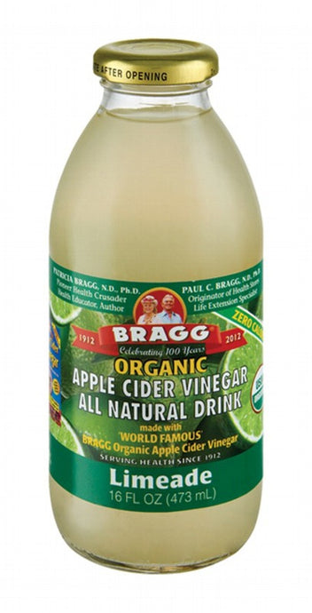 Bragg, Apple Cider Vinegar Limeade, 473ml