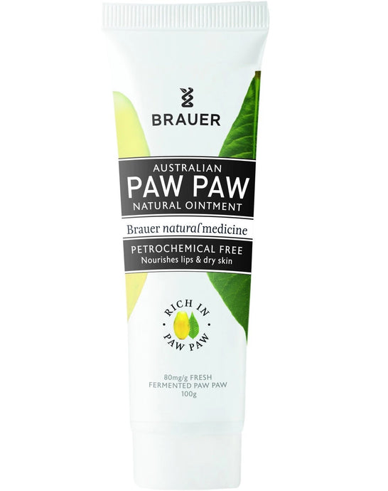 Brauer, Paw Paw Natural Ointment, 100g Tube