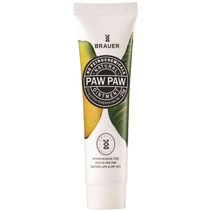 Brauer, Paw Paw Natural Ointment, 25g Tube