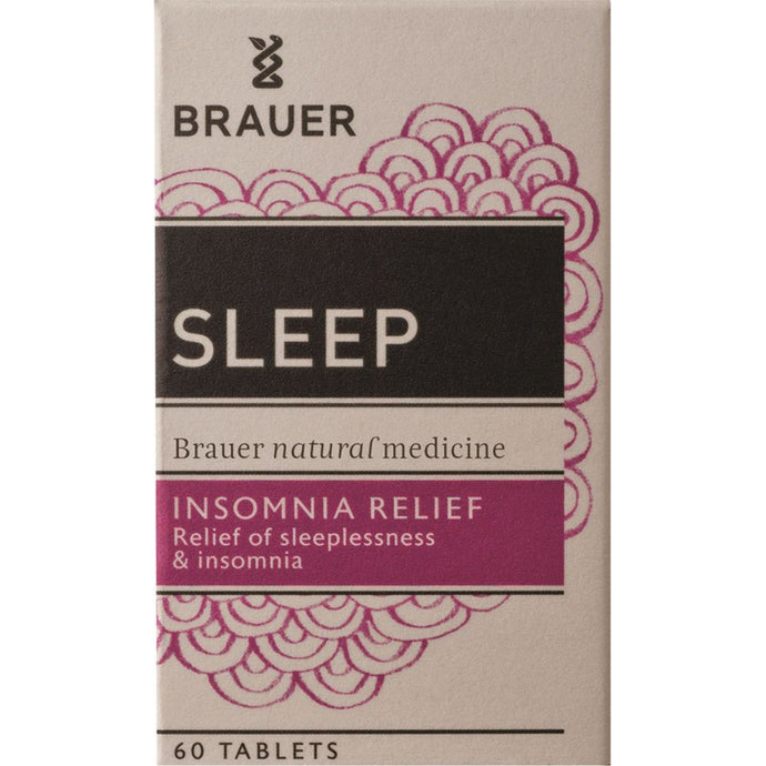 Brauer, Sleep Insomnia Relief, 60 Tablets