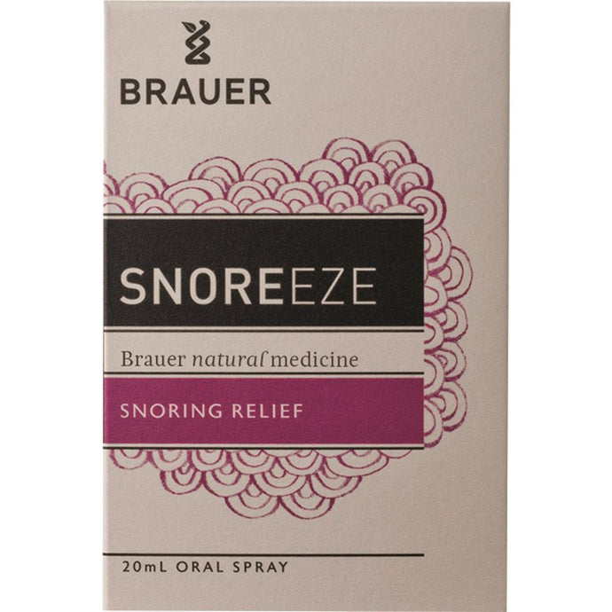 Brauer, Snoreeze Snoring Relief Oral Spray, 20ml