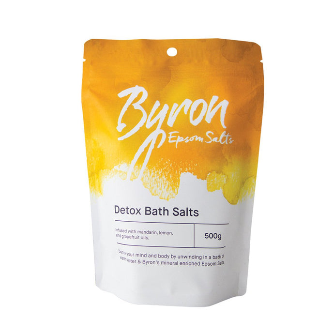 Byron, Bath Salts Epsom Salts Detox Bath Salts, 500g