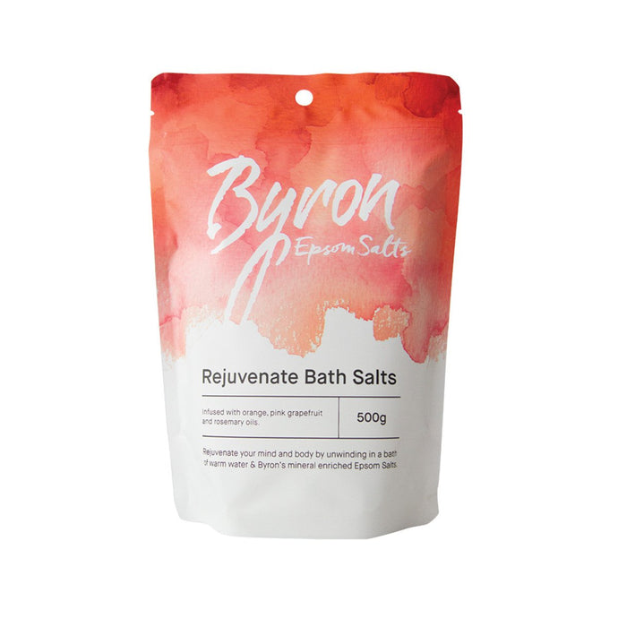Byron, Bath Salts Epsom Salts Rejuvenate Bath Salts, 500g