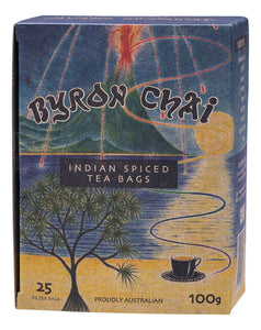Byron Chai, Indian Spiced Tea 25s Teabags, 100G
