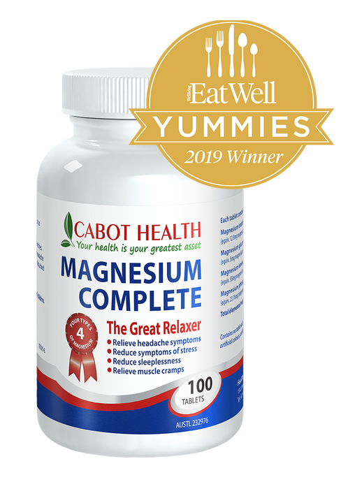 Cabot Health, Magnesium Complete, 100 Tablets