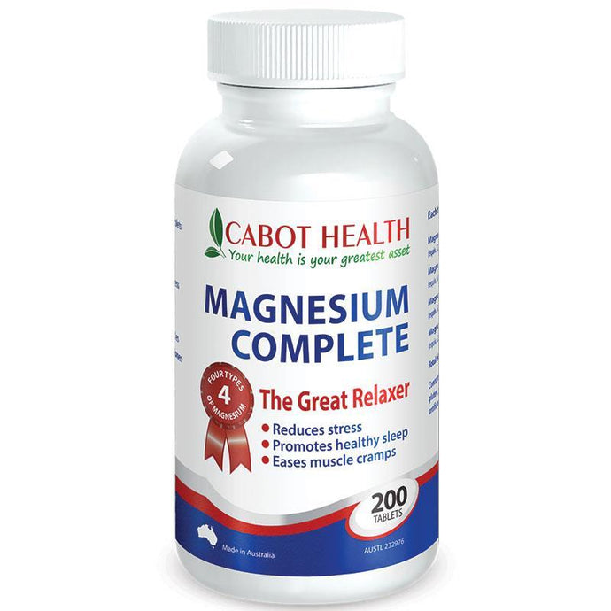 Cabot Health, Magnesium Complete, 200 Tablets