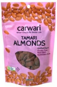 Carwari Organic, Almonds Tamari, 150g
