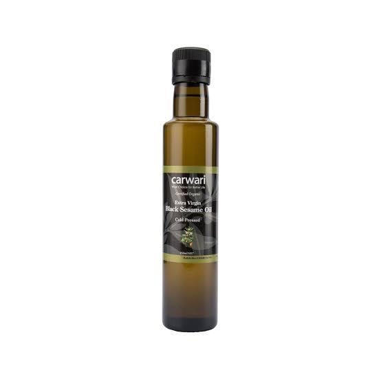 Carwari Organic, Black Sesame Oil Extra Virgin, 250ml