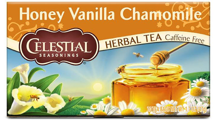 Celestial, Tea Honey Vanilla Chamomile, 20s Bags