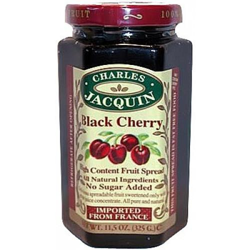 Charles Jacquin, Fruit Spread Black Cherry, 325g