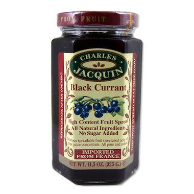 Charles Jacquin, Fruit Spread Black Currant, 325g
