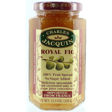 Charles Jacquin, Fruit Spread Royal Fig, 325g