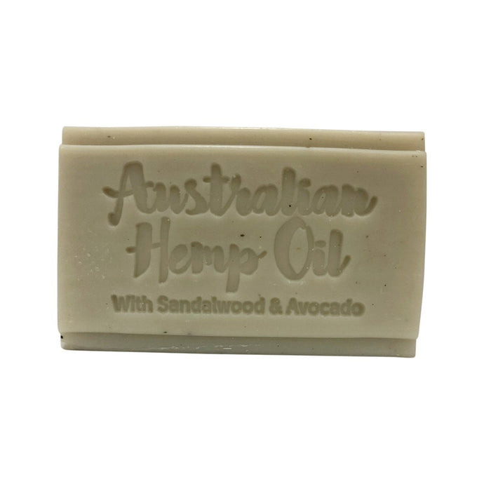Clover Fields, Nature'S Gifts Australian Hemp Oil With Sandalwood & Avocado Soap, 150g