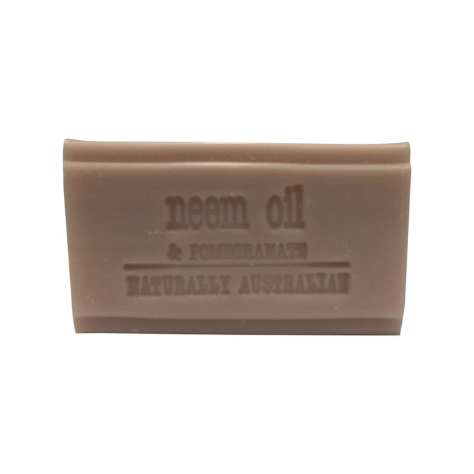 Clover Fields, Neem Oil And Pomegranate Soap, 100g