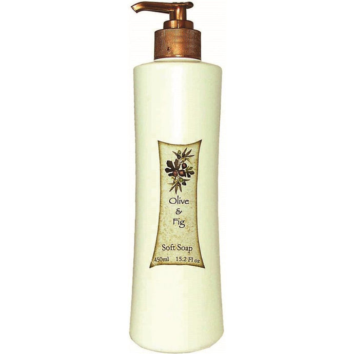 Clover Fields, Olive & Fig Soft Soap, 450ml