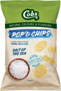 Cobs, Pop'd Chips Sea Salt, 110g