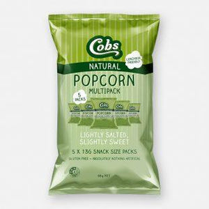 Cobs, Popcorn Multipack Sweet&Salted, 5 x 13g