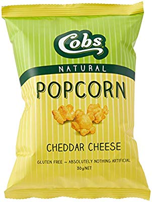 Cobs, Popcorn Natural Cheddar Cheese, 30g
