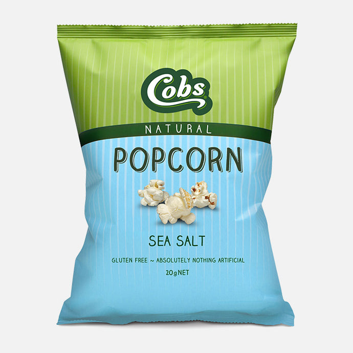 Cobs, Popcorn Natural Sea Salt, 20g