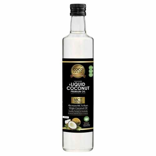 Coco Earth, Liquid Coconut Oil, 250ml