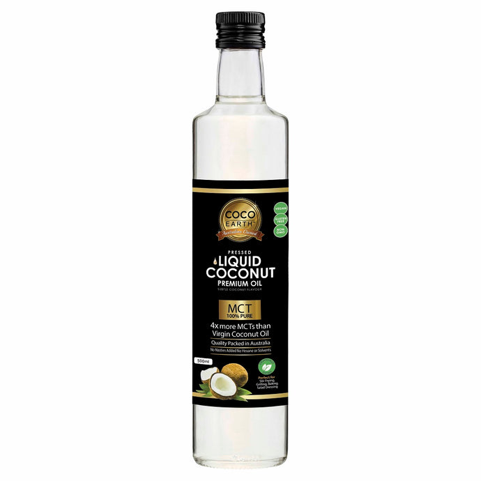 Coco Earth, Liquid Coconut Oil, 500ml