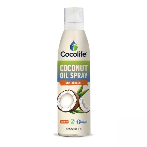 Cocolife, Coconut Oil Non-aerosol Spray, 150ml