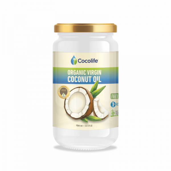 Cocolife, Organic Virgin Coconut Oil, 950ml