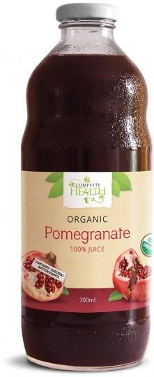 Complete Health, Pomegranate 100% Juice Organic, 700ml