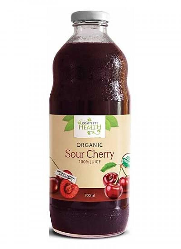 Complete Health, Sour Cherry 100% Juice Organic, 700ml