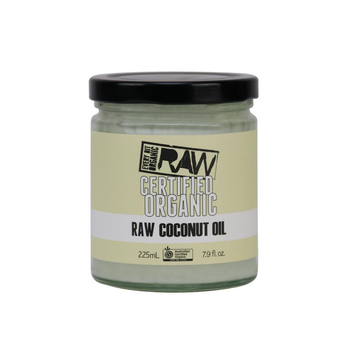 EBO RAW, Coconut Oil, 225ml