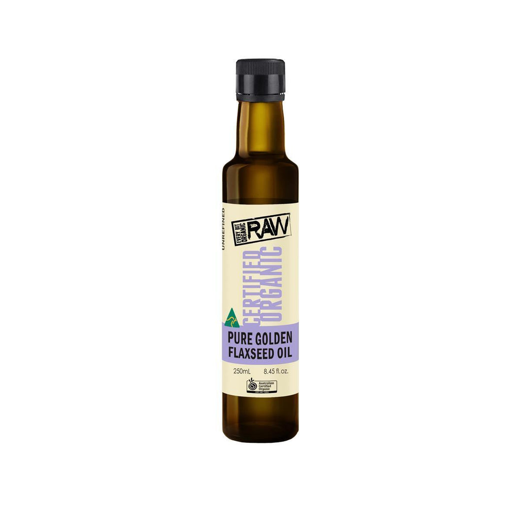 EBO RAW, Flaxseed Oil, 250ml