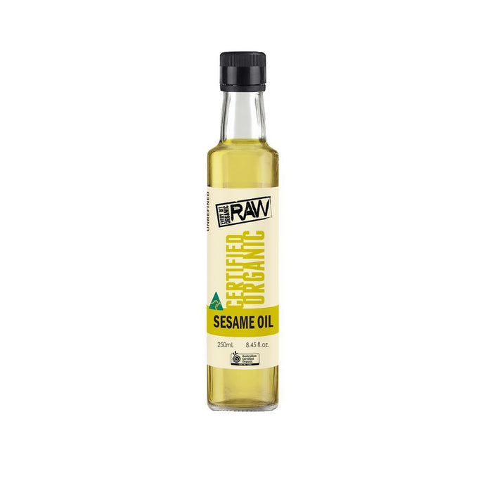 EBO RAW, Sesame Oil, 250ml