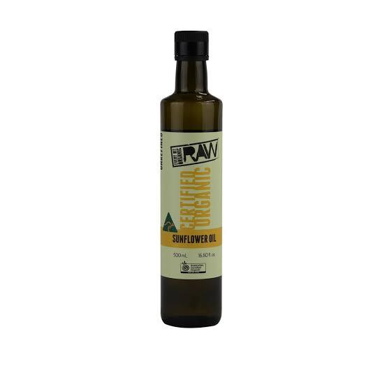 EBO RAW, Sunflower Oil, 500ml