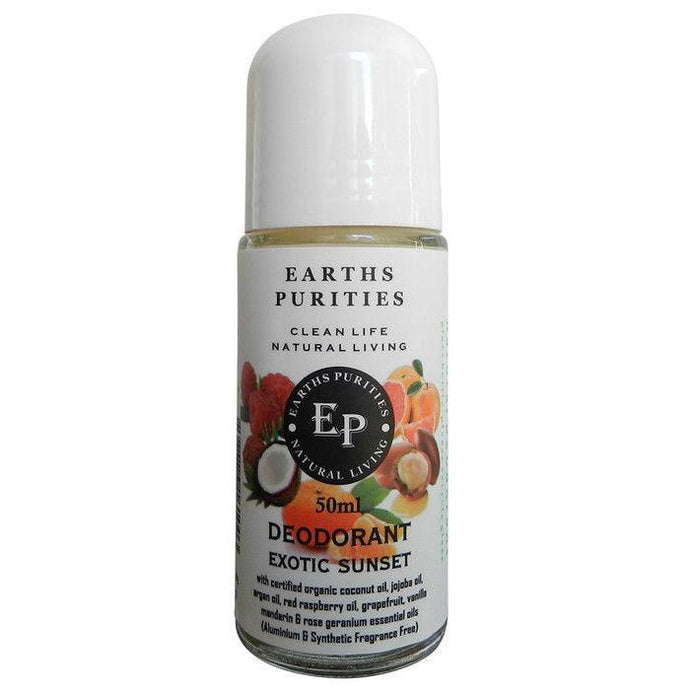 Earths Purities, Ladies Exotic Sunset Deodorant, 50g