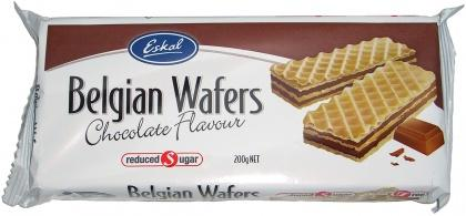 Eskal, Belgian Chocolate Wafers, 200g