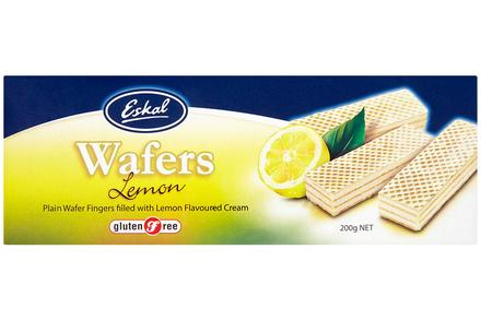 Eskal, Lemon Cream Wafer, 200g