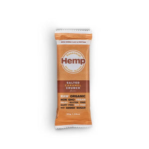 Essential Hemp Bars, Salted Caramel Crunch, 45g