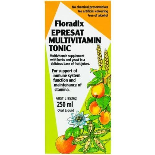 Floradix, Epresat MultiVitamin Tonic, 250ml